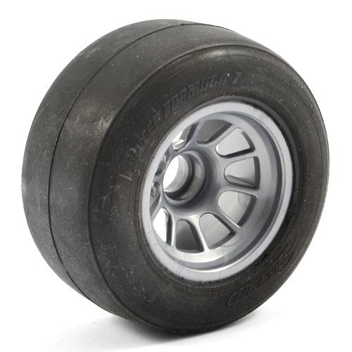 Sweep 1/10 Formula1 Front Pre-Glued Tyres Soft (Pr)