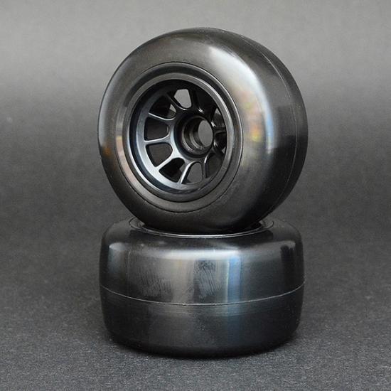 Associated Sweep 1/10 Formula 1 V5 Medium Front Pre-Glued Slick Tyres