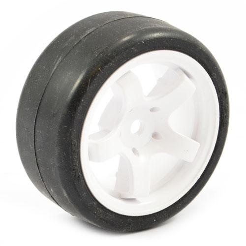 Sweep Mini Tyres Pre Glued on 12mm Hex Mini Wheels 33 Deg (Set of 4)
