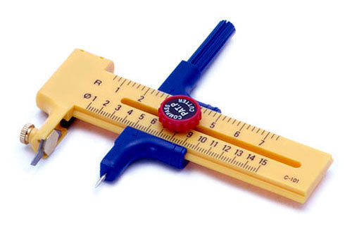 Compass Cutter w/6 x Spare Blades