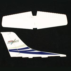 Top Gun Park Flite Class 400 Cessna Tail Wing (Blue)