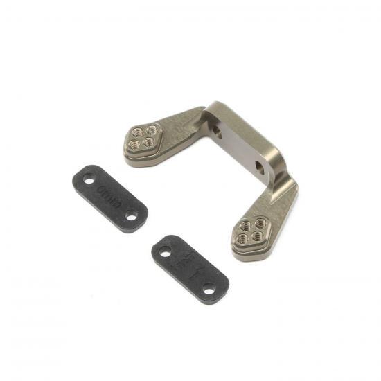 Rear Camber Block w/Inserts: 22 4.0