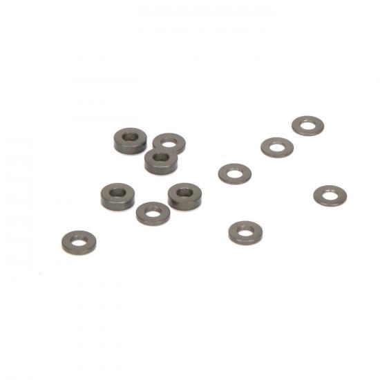 Caster Block Aluminium Ball stud Spacers (4) 22-4