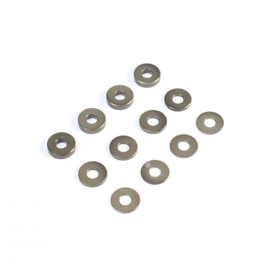 M3 Aluminum Washer Set - Hard Anodized (4ea)