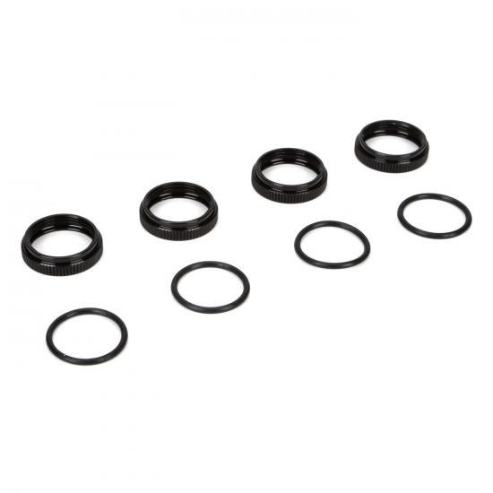8ight B 3.0 16mm Shock Nuts & O-rings