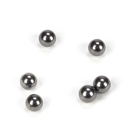 Tungsten Carbide 2mm Differential Balls (6)