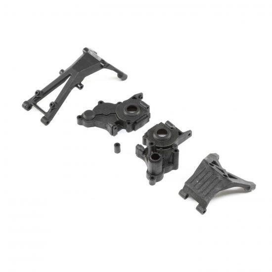 Gearbox/Brace Set 3-gear tranny: 22/T/SCT 2.0