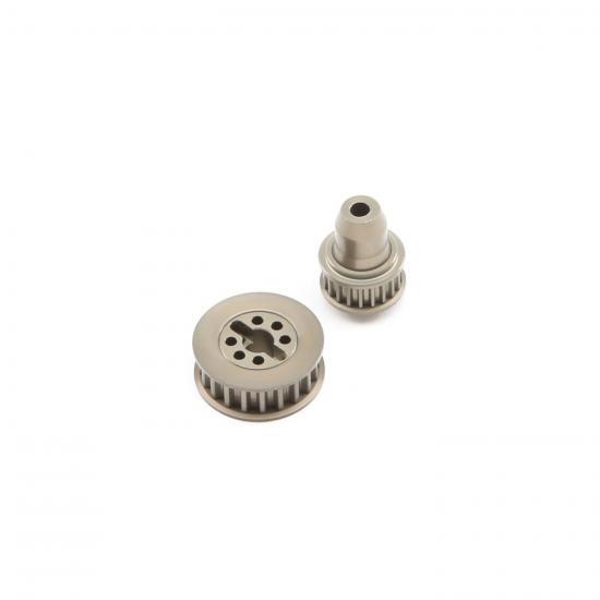 Aluminum Pulley Set: 22-4/2.0