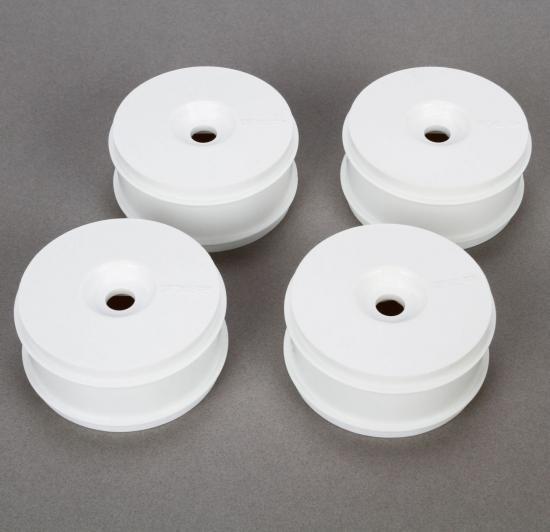 8ight B 3.0 White Dish Wheels (4)