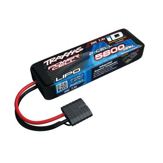 Traxxas ID LiPo - 5800mAh 7.4V 2S 25C - All Models
