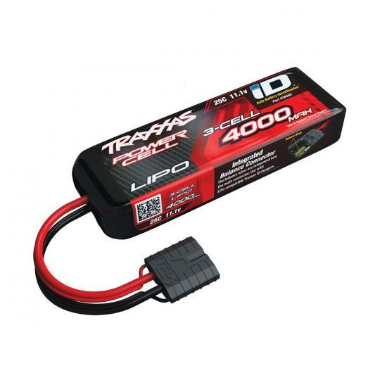 Traxxas 4000mAh 11.1V 3S 25C LiPo ID Battery - All Models