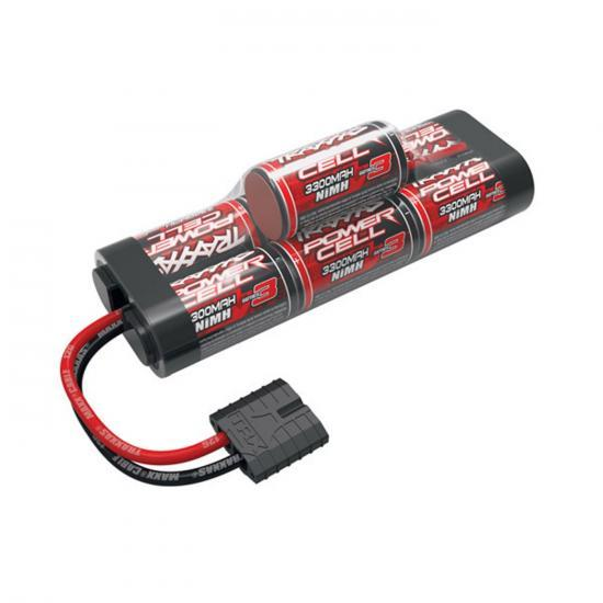 Traxxas ID Power Cell Hump Battery - 8.4v - 3300mAh - High Current Traxxas ID Connector