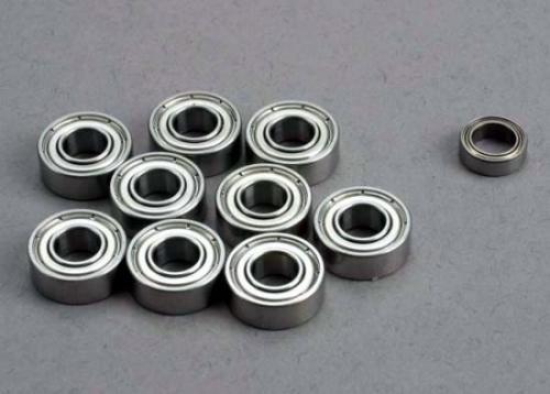 Ball Bearing Set: 5x11x4mm (9)/ 5x8x2.5mm (1)