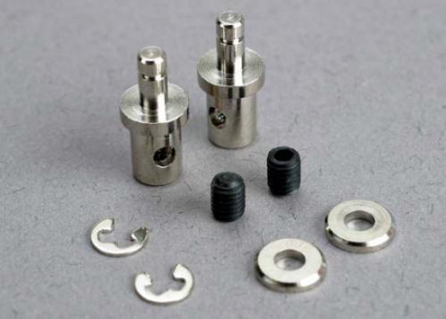 Traxxas Servo rod connectors (2)/ 3mm set screws