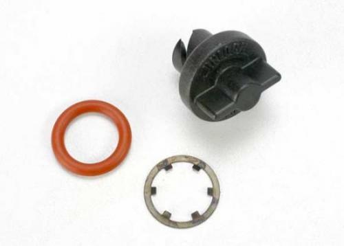 Traxxas Twist Lock thumbscrew (1)/ o-ring (1)/ retaining ring (1)
