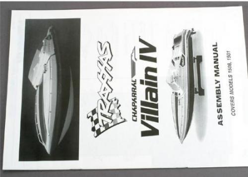 Traxxas Assembly manual Villain IV