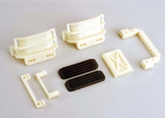 Traxxas Battery holders/rubber shock pads/radio tray brace/sevo mounting bracket/plastic sway bar bracket/speed control mounting bracket