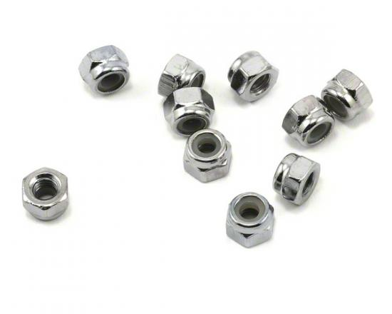 Traxxas Nuts 4mm nylon locking (6)