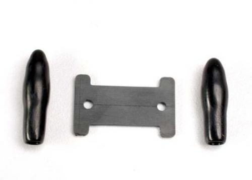 Traxxas Antenna caps vinyl (2)/ antenna spool