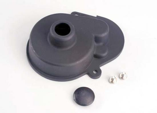 Traxxas Dust cover and access plug (w/screws)