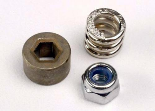 Traxxas Slipper tension spring/ spur gear bushing locknut