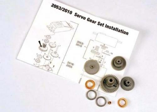 Traxxas Servo gears (for 2055 2056 servos)