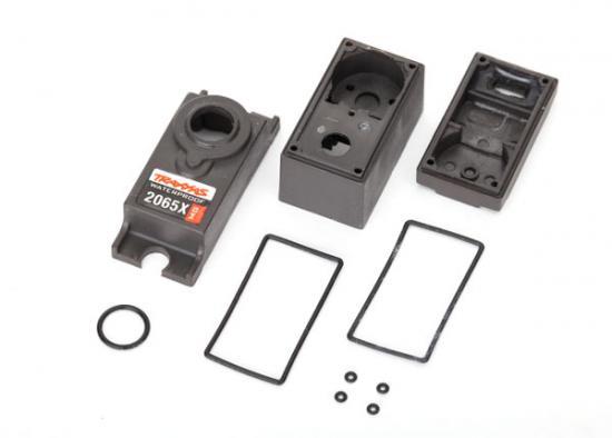 Traxxas Servo case/gaskets (for 2065X metal gear waterproof sub-micro servo)