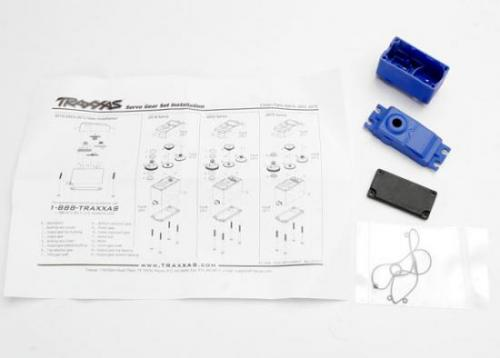 Traxxas Servo case/gaskets (for 2056 and 2075 waterproof servos) ** CLEARANCE **