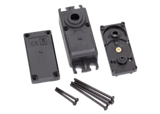 Traxxas Servo case plastic (top middle bottom)/ gaskets/ hardware (for 2250 2255 servos)