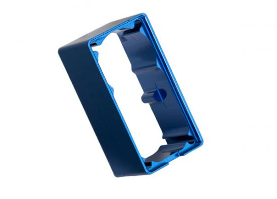 Traxxas Servo case aluminum (blue-anodized) (middle) (for 2250 servo)