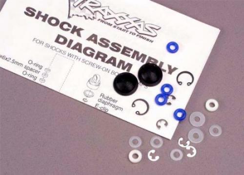 Traxxas Ultra shock rebuild kit (for 2 shocks)