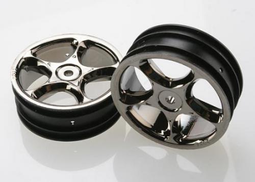 Traxxas Black Chrome Tracer 2.2 Wheels (front)