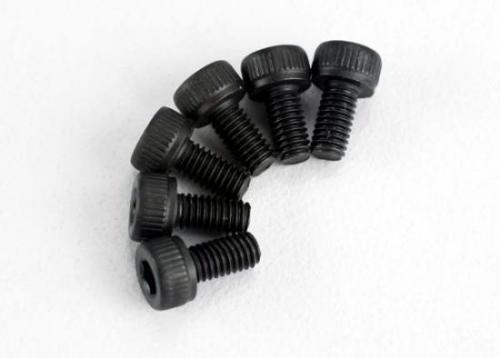 Traxxas Screws 3x6mm cap-head machine (hex drive) (6)