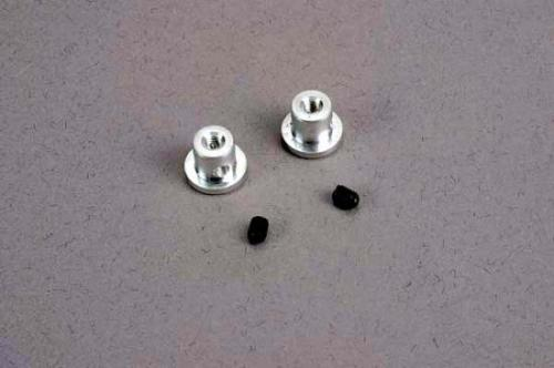 Traxxas Wing buttons (2)/ set screws (2)/ spacers (2)/ 3x8mm CS (2)
