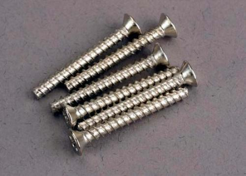 Traxxas Screws 3x25mm countersunk self-tapping (6)
