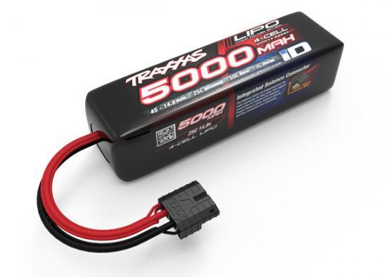 Traxxas iD LiPo Battery - 5000mAh 14.8v 4S 25C (155 x 34 x 45mm)