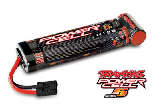 Traxxas Series 5 Power Cell ID Battery - 5000mAh 8.4v Flat