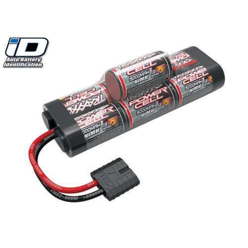 Traxxas ID Power Cell Hump Battery - 8.4v - 5000mAh - High Current Traxxas ID Connector