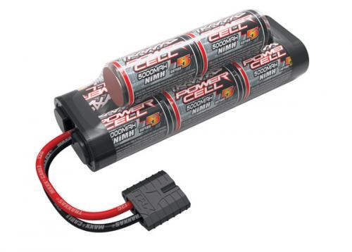 Traxxas iD NiMh Battery - 5000mAh 9.6v Hump