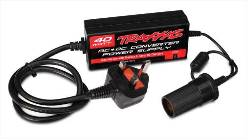 Traxxas 240v AC to 12v DC Power Supply 40W - UK Plug (HBZ1004)