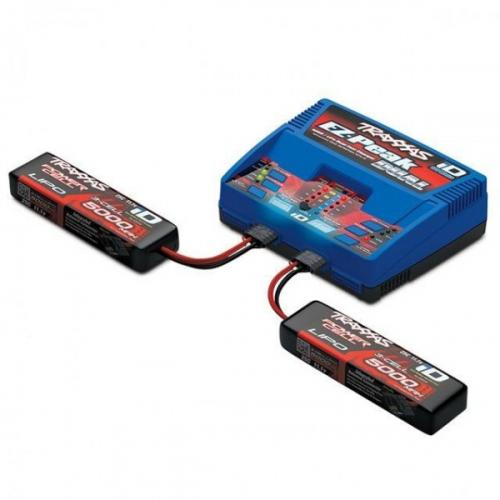 Traxxas EZ Peak 2972 Charger Combo With 2 x 2872X 3S Batteries - UK