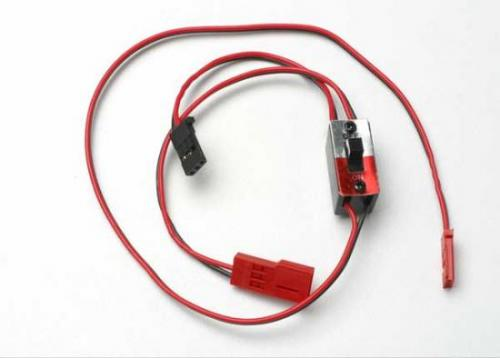 Traxxas Wiring harness for RX Power Pack Traxxas nitro vehicles (includes on/off switch and charge jack)