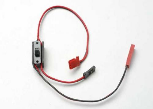 Traxxas Wiring harness for RX Power Pack Revo (includes on/off switch and charge jack)
