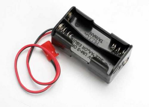 Traxxas Battery holder 4-cell (no on/off switch) (for Jato and others that use a male Futaba style connector)
