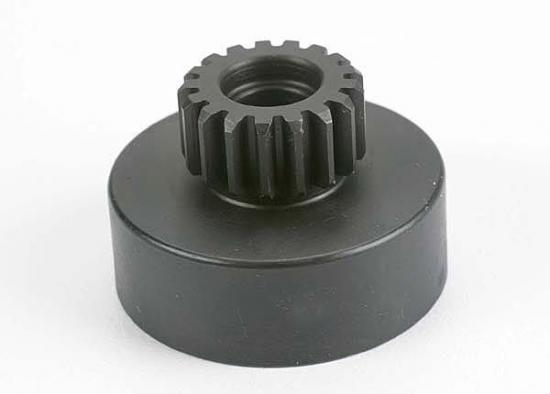 Traxxas Clutch bell hardened steel (17-tooth) (32-pitch) (requires two 5x10mm ball bearings part 4609) (N. Hawk/Buggy/Street)