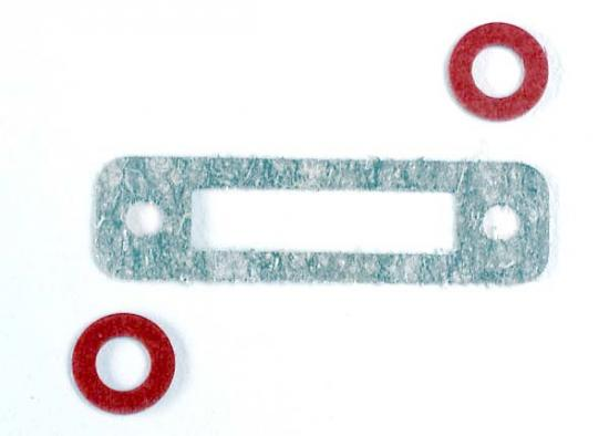 Traxxas Exhaust header gasket (1)/ gaskets pressure fitting (2) (for side exhaust engines only)