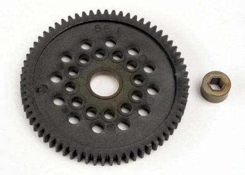Traxxas Spur gear (66-Tooth) (32-pitch) w/bushing