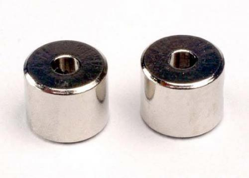 Traxxas Collars screw (2)/ set screws 3mm (2)