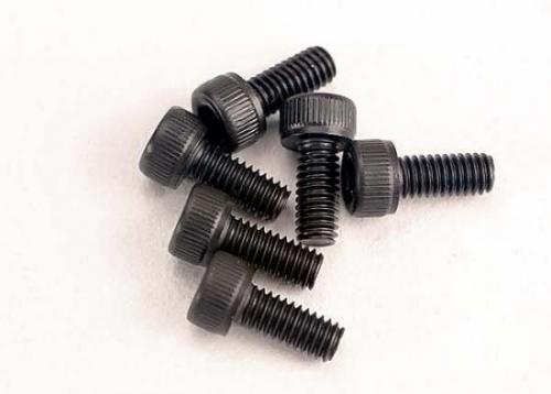 Traxxas Screws 2.5x6mm cap-head machine (hex drive) (6)