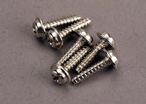 Traxxas Screws 3x12mm washerhead self-tapping (6) ** CLEARANCE **